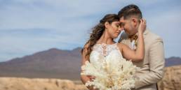 El Dorado Dry Lake bed elopement nevada antonio and lauren