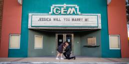 Garden Grove Gem Theater Proposal Jonathan & Jessica